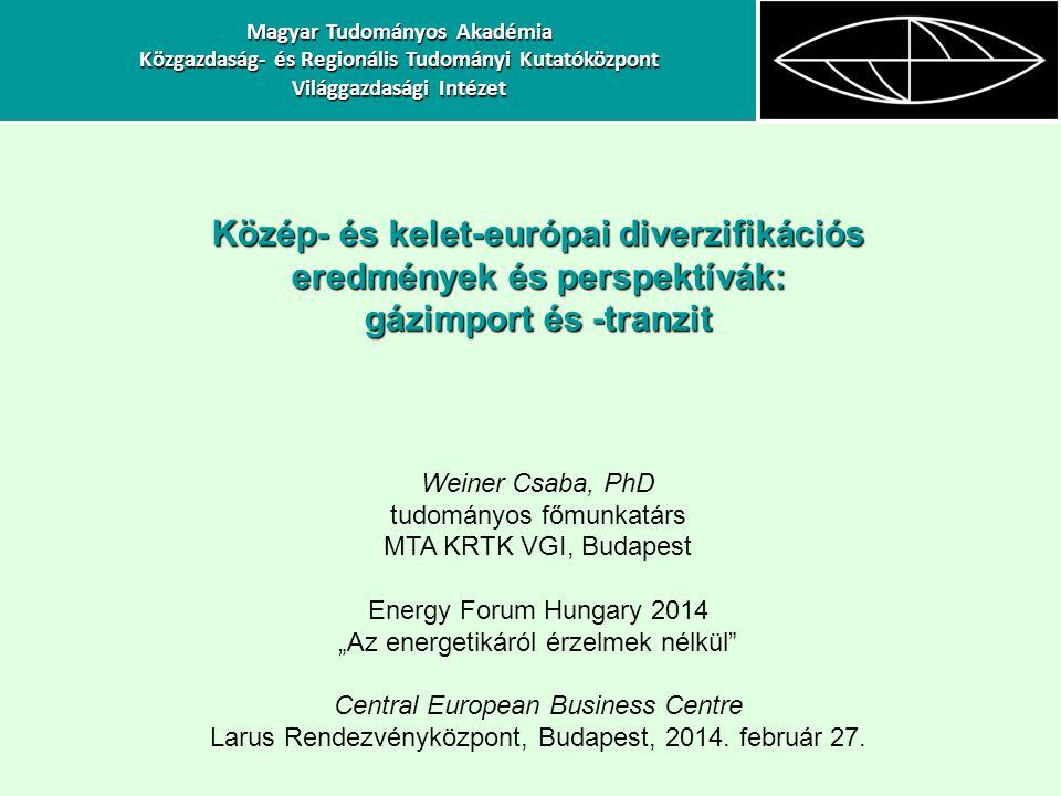 Közép- és kelet-európai diverzifikációs eredmények és perspektívák:
