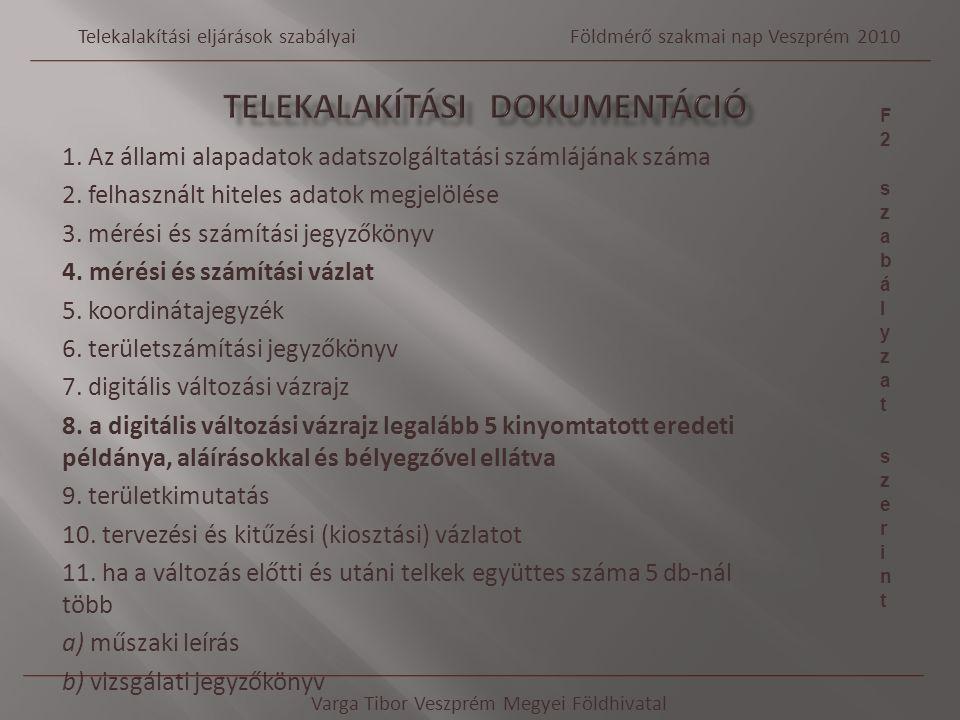 TELEKALAKÍTÁSI DOKUMENTÁCIÓ
