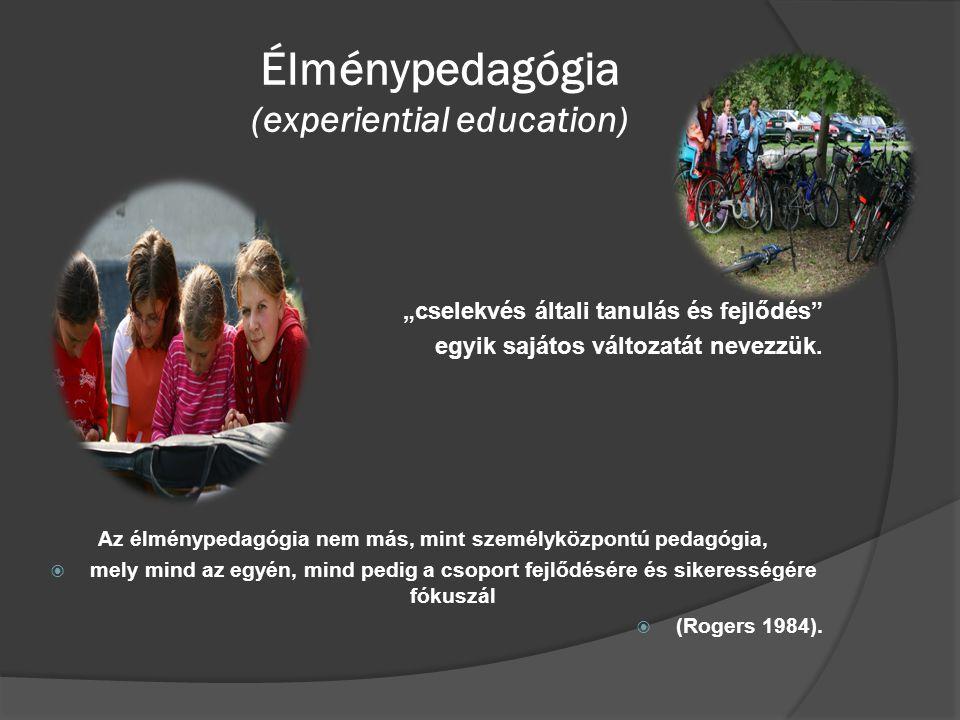 Élménypedagógia (experiential education)