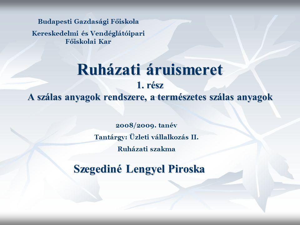 Szegediné Lengyel Piroska