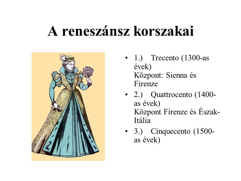A reneszánsz korszakai