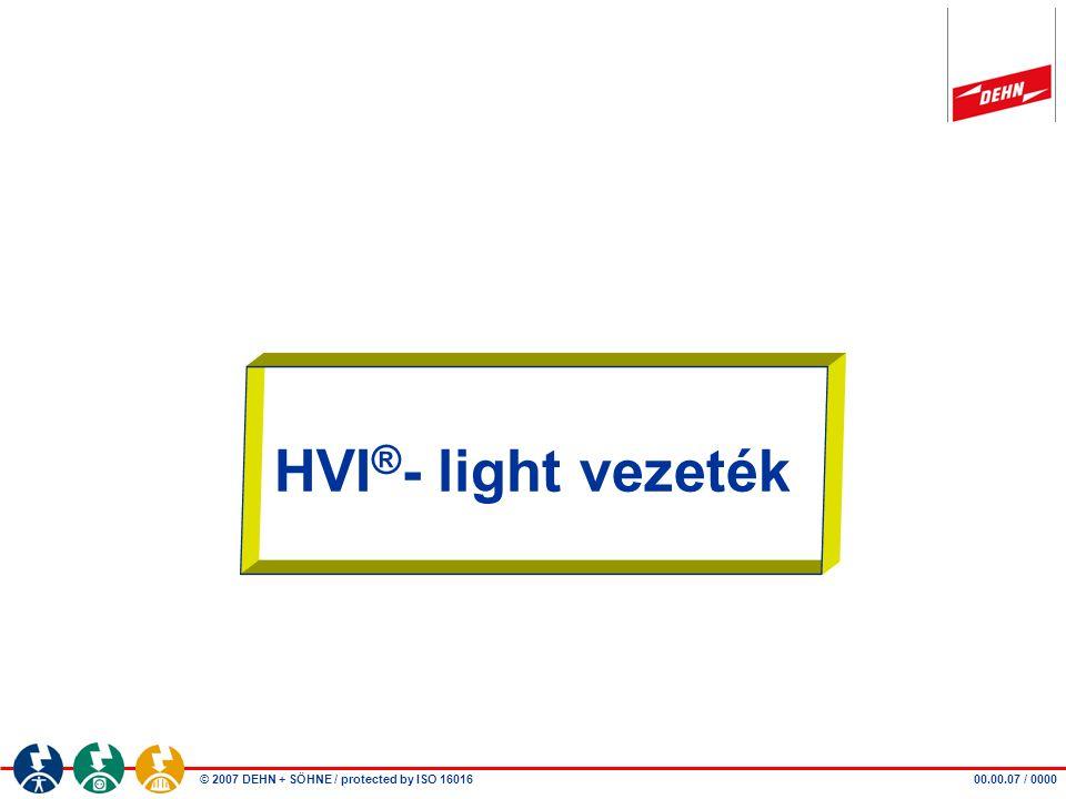 Beitrag - Autor HVI®- light vezeték 00.00.07 / 0000