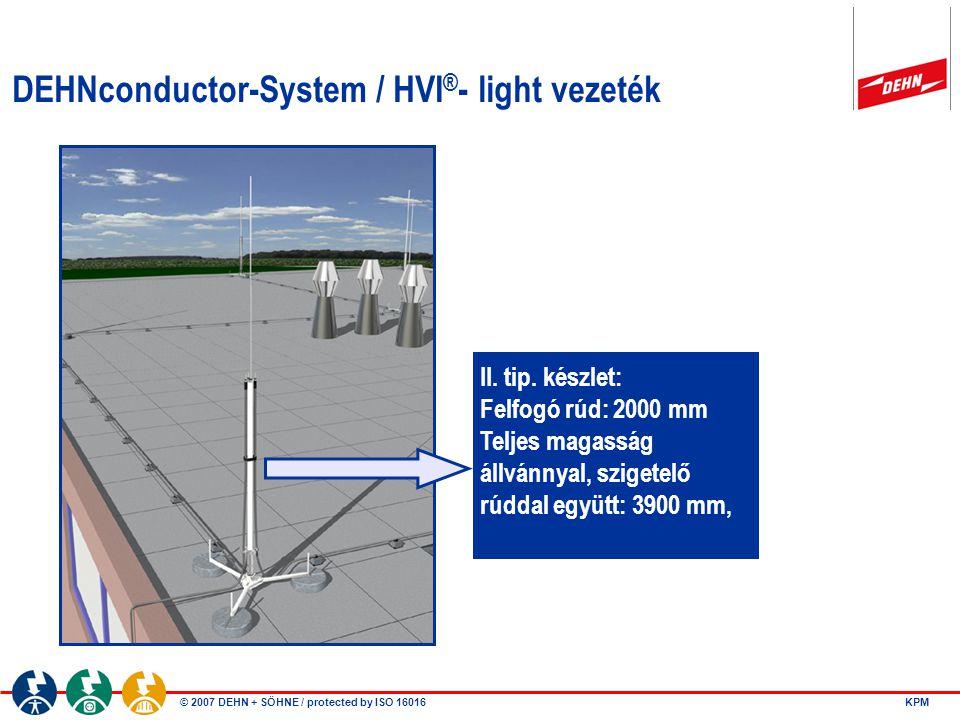 DEHNconductor-System / HVI®- light vezeték