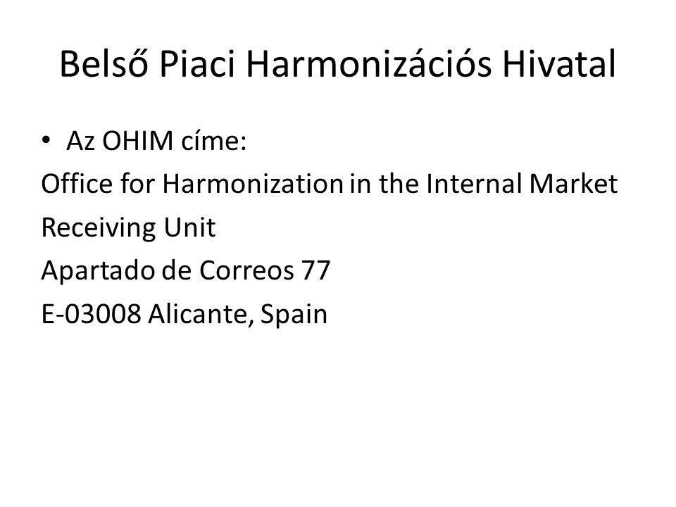 Belső Piaci Harmonizációs Hivatal