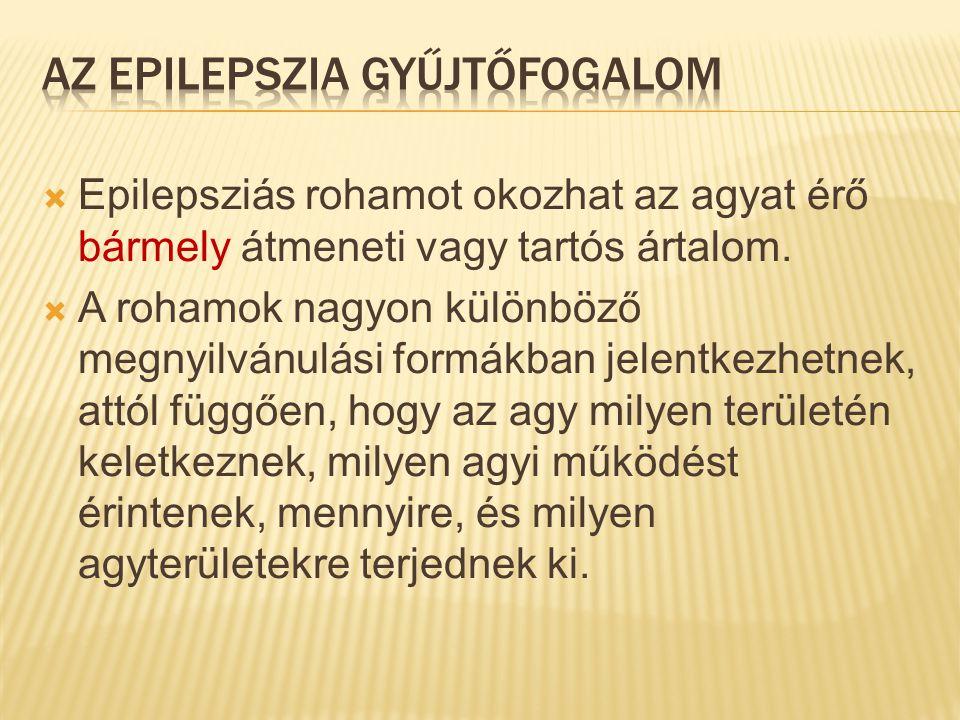 Az epilepszia gyűjtőfogalom