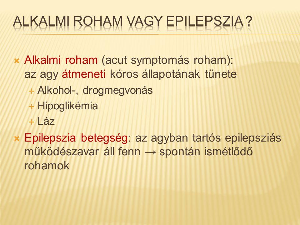 Alkalmi roham vagy epilepszia