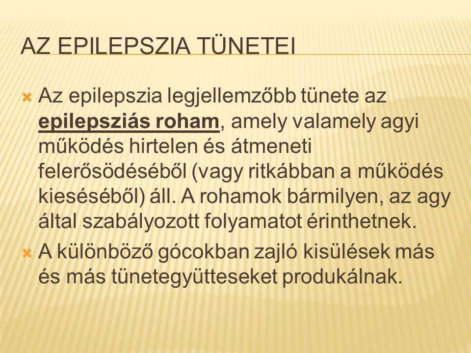 Az epilepszia tünetei