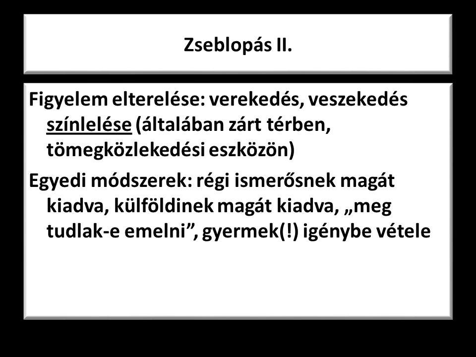 Zseblopás II.