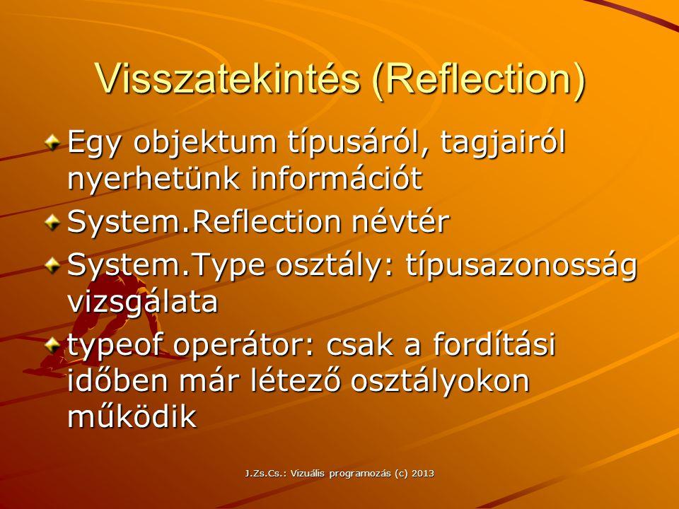 Visszatekintés (Reflection)