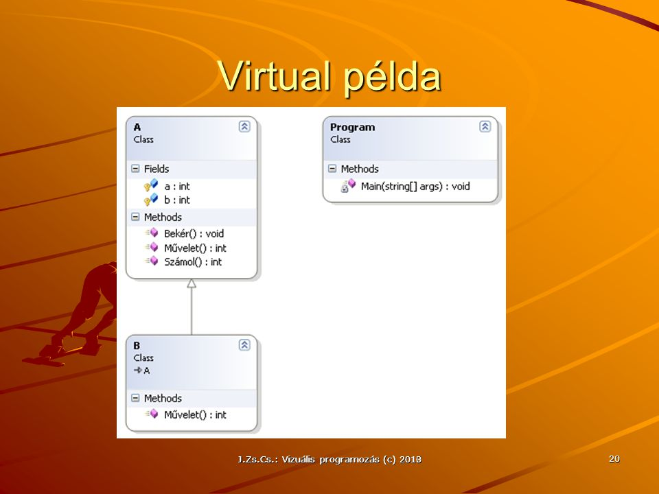 Virtual példa J.Zs.Cs.: Vizuális programozás (c) 2010
