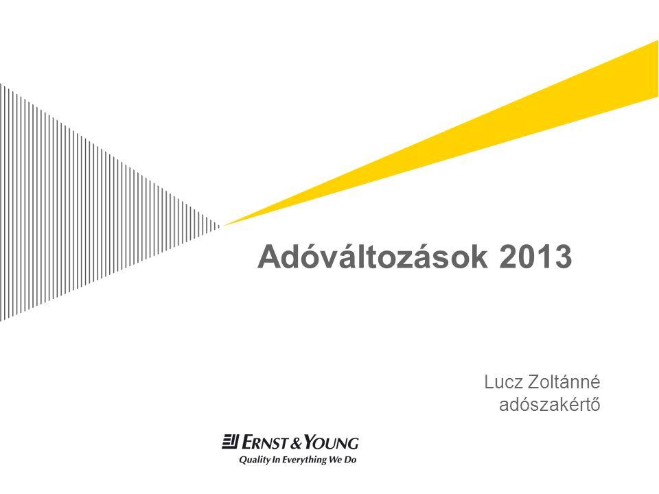 Lucz Zoltánné adószakértő