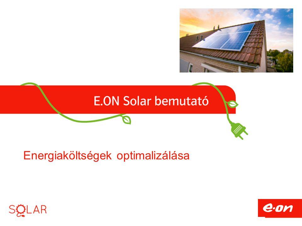 Energiaköltségek optimalizálása