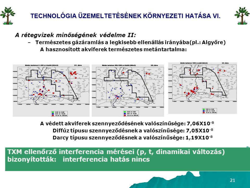 TECHNOLÓGIA ÜZEMELTETÉSÉNEK KÖRNYEZETI HATÁSA VI.