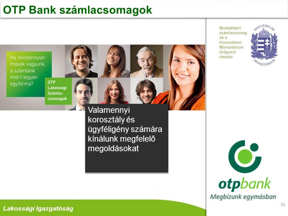 OTP Bank számlacsomagok