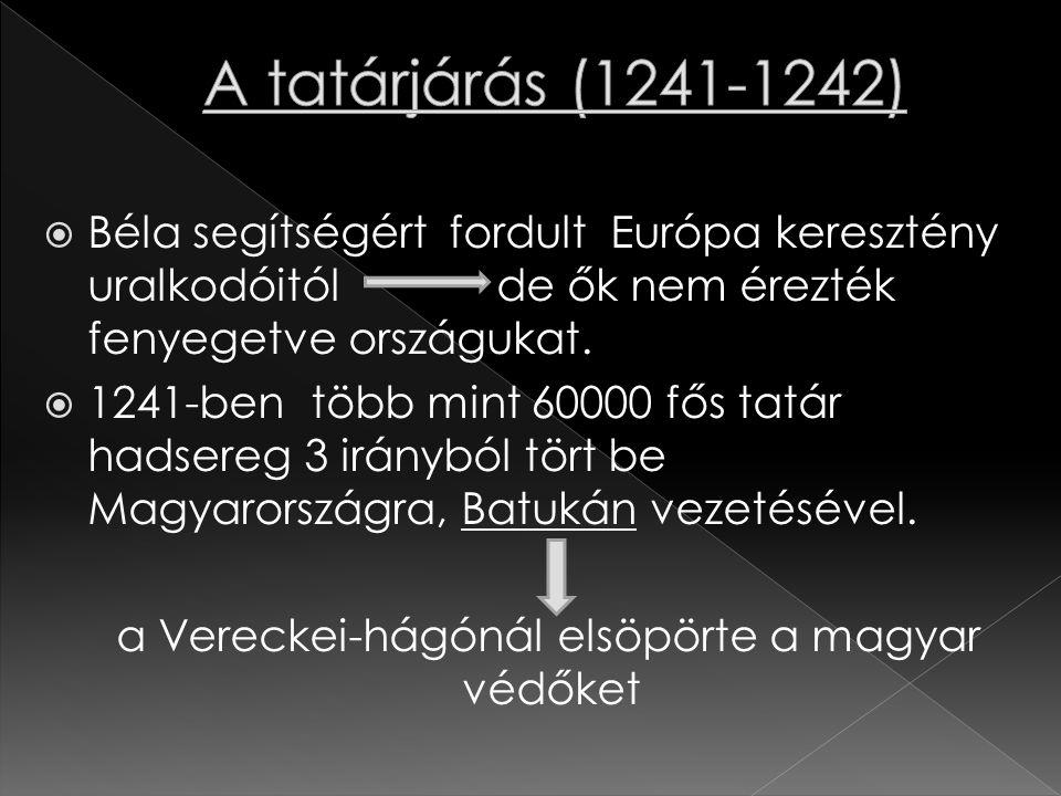 a Vereckei-hágónál elsöpörte a magyar védőket
