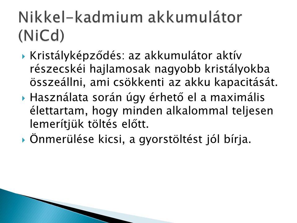 Nikkel-kadmium akkumulátor (NiCd)