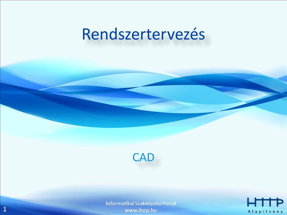 Rendszertervezés CAD