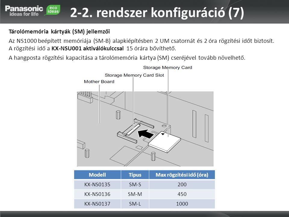 2-2. rendszer konfiguráció (7)