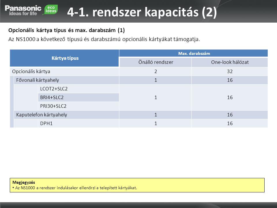 4-1. rendszer kapacitás (2)