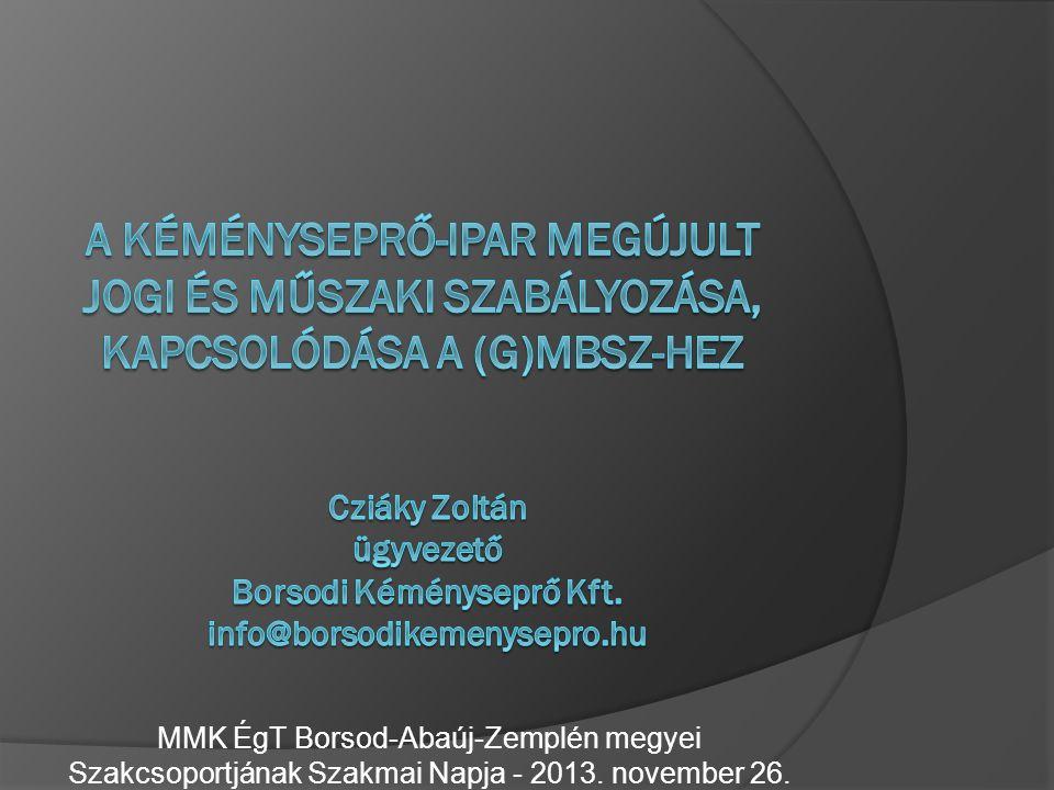 Borsodi Kéményseprő Kft.