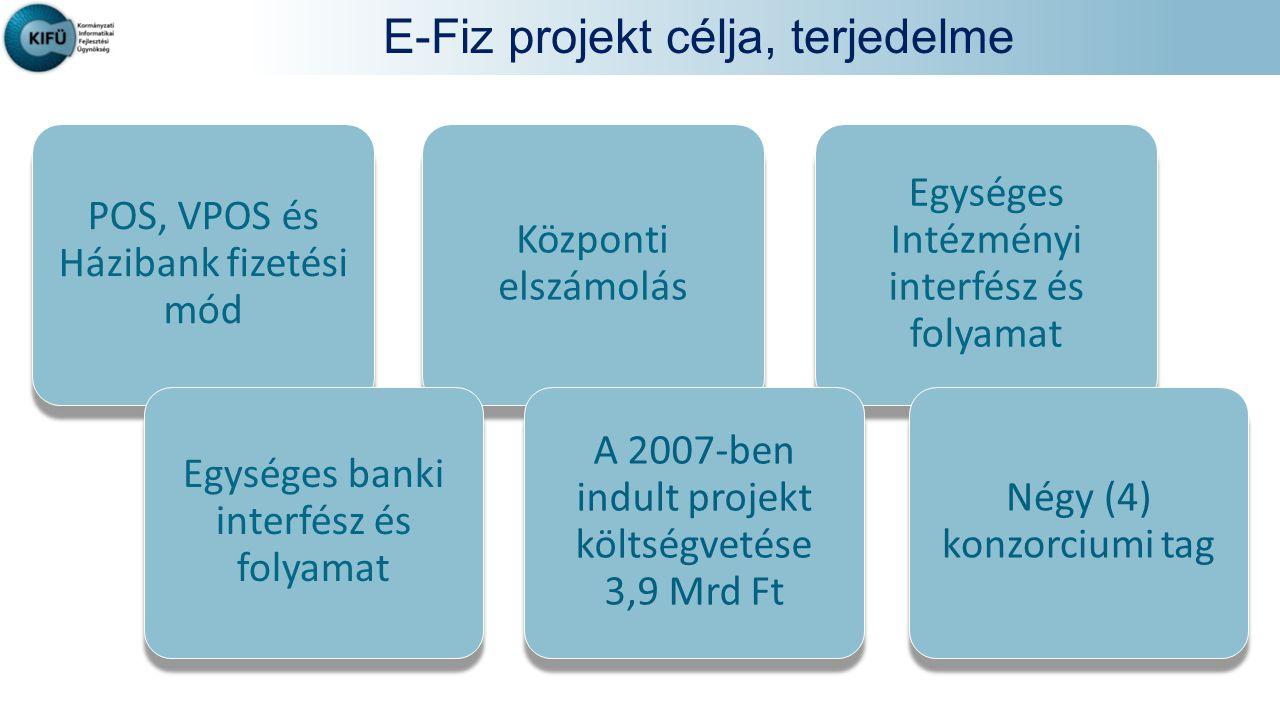 E-Fiz projekt célja, terjedelme