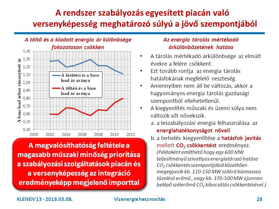 A rendszer szabályozás egyesített piacán való versenyképesség meghatározó súlyú a jövő szempontjából