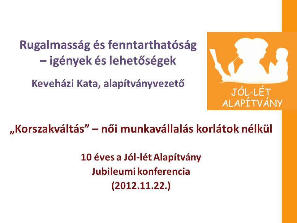 10 éves a Jól-lét Alapítvány Jubileumi konferencia