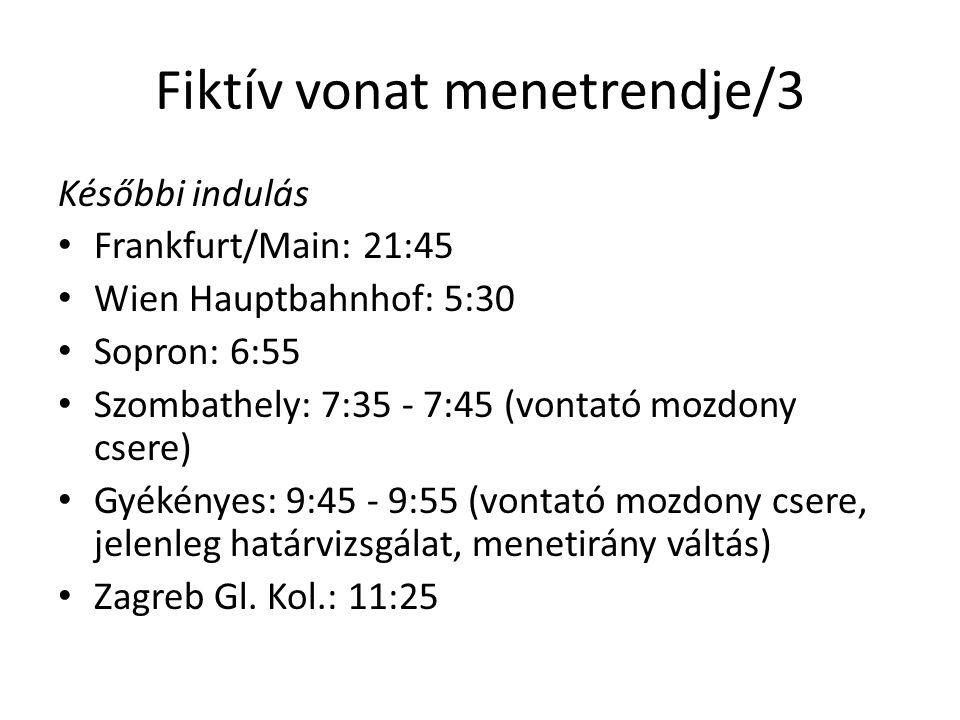 Fiktív vonat menetrendje/3