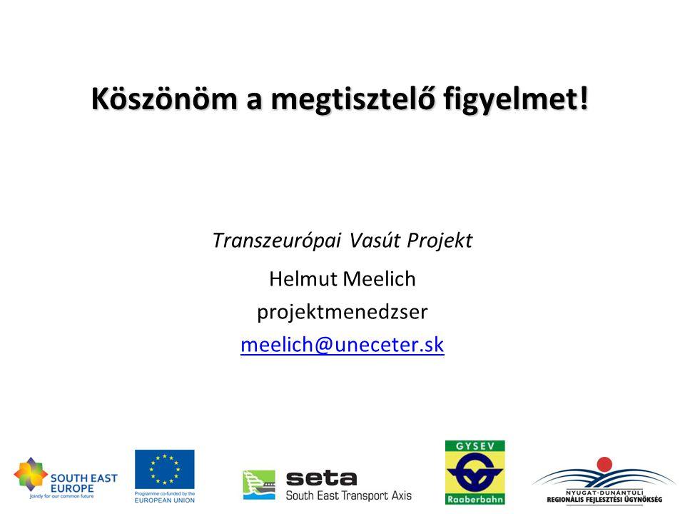 Transzeurópai Vasút Projekt