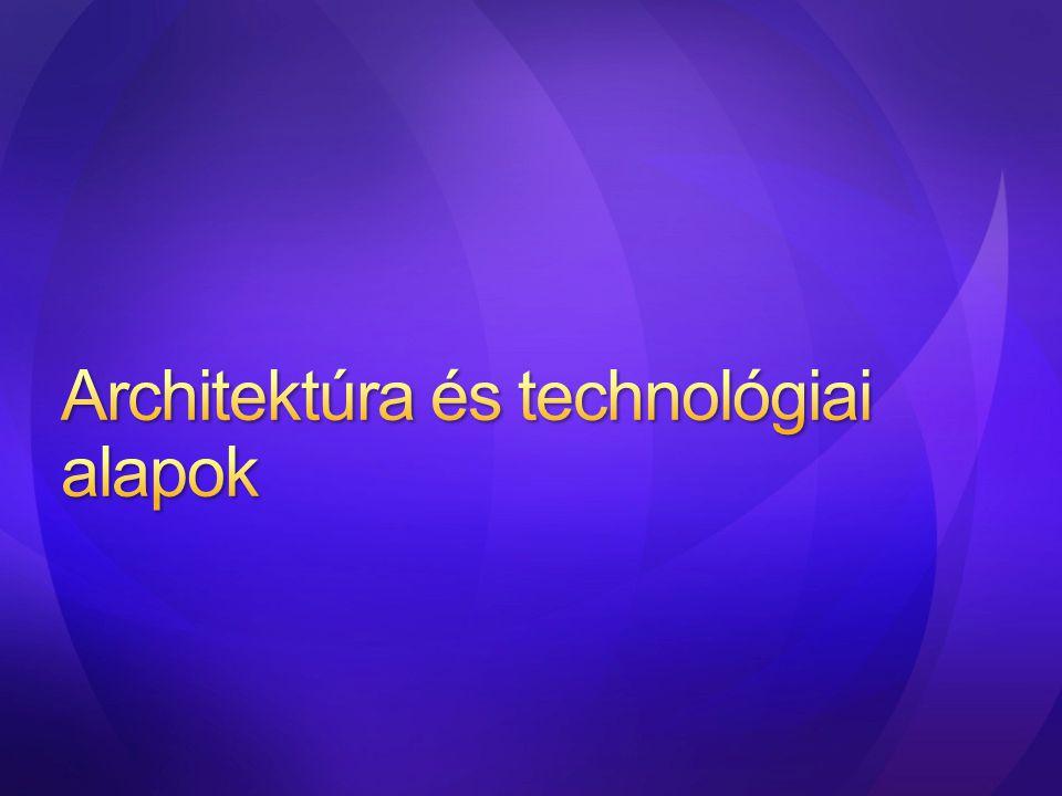 Architektúra és technológiai alapok