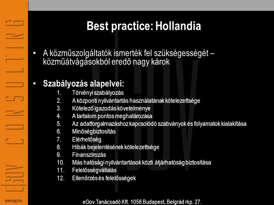 Best practice: Hollandia