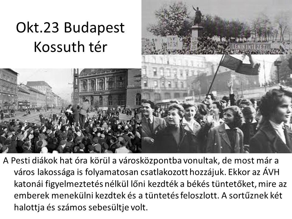 Okt.23 Budapest Kossuth tér