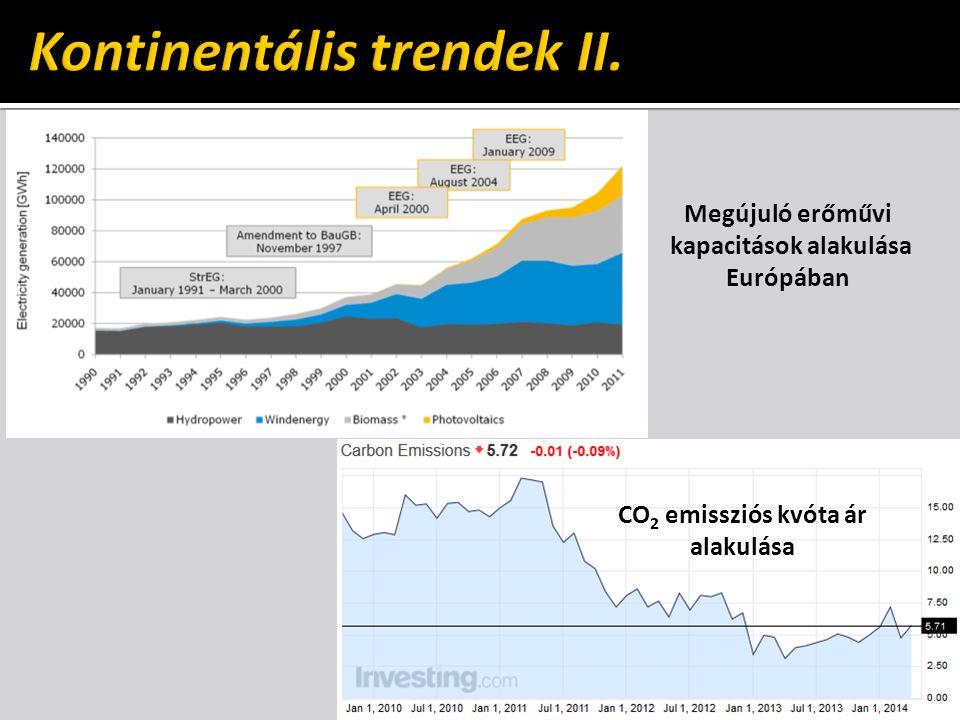 Kontinentális trendek II.