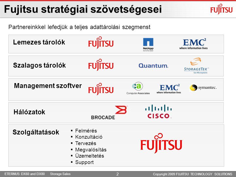 Fujitsu lemezes tárolók - portfolió