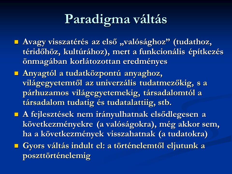 Paradigma váltás