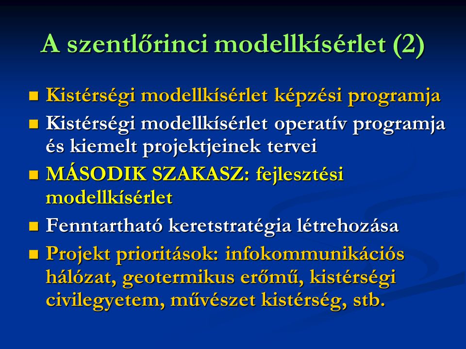 A szentlőrinci modellkísérlet (2)