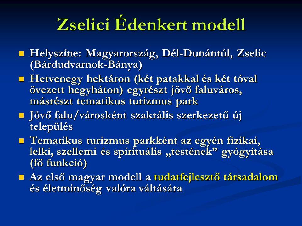 Zselici Édenkert modell
