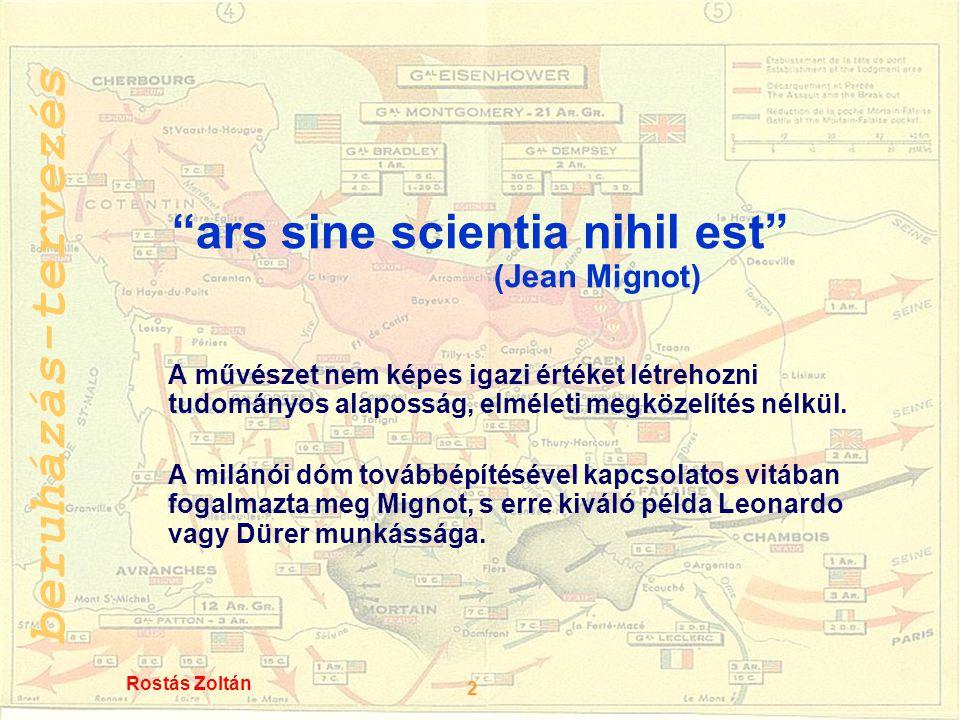 ars sine scientia nihil est (Jean Mignot)