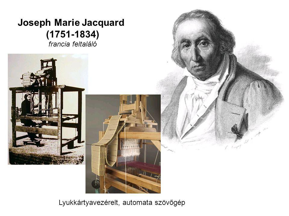 Joseph Marie Jacquard (1751-1834)