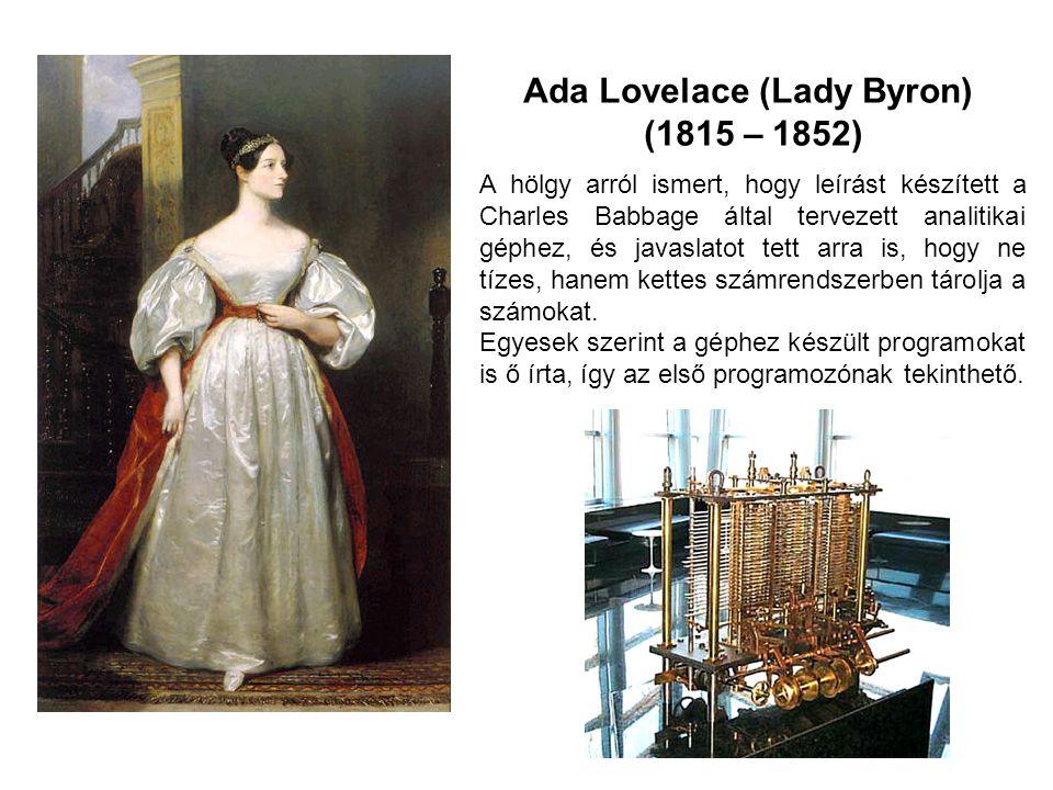 Ada Lovelace (Lady Byron)