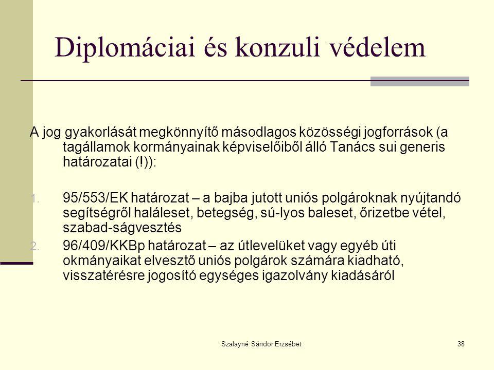 Diplomáciai és konzuli védelem