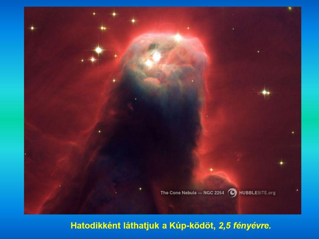 Hatodikként láthatjuk a Kúp-ködöt, 2,5 fényévre.