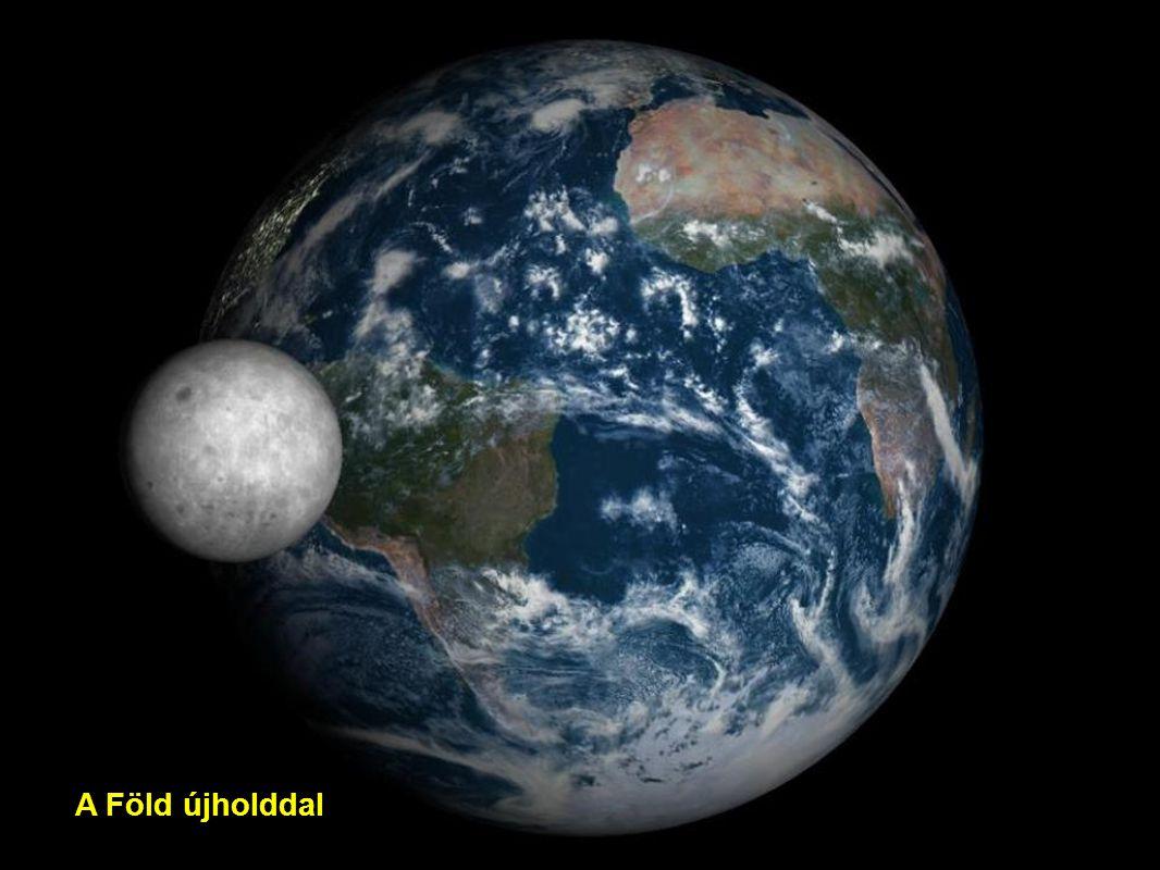 A Föld újholddal