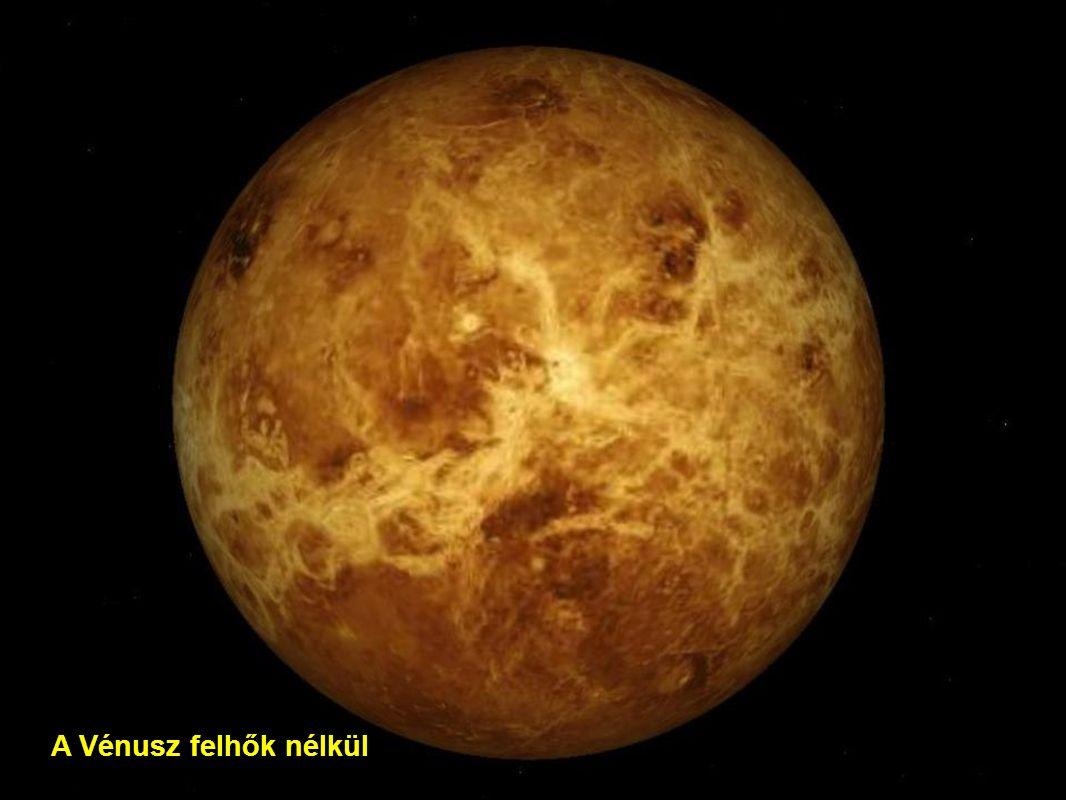 A Vénusz felhők nélkül