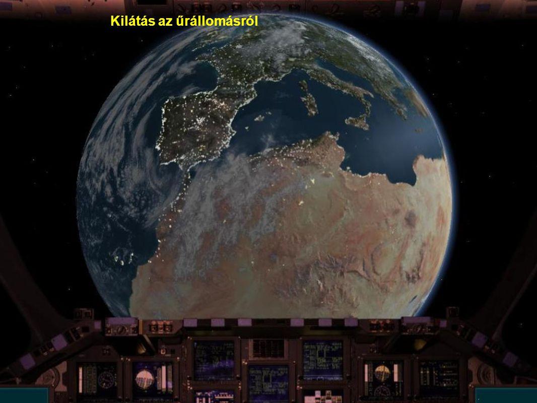 Kilátás az űrállomásról
