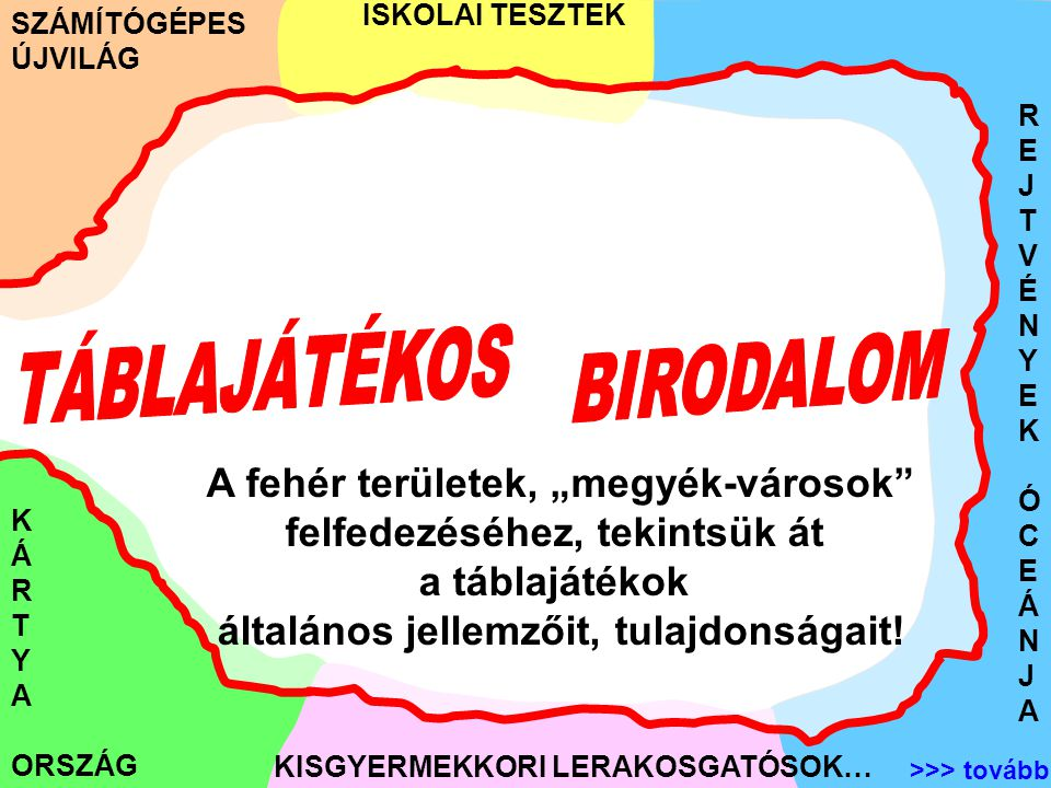 TÁBLAJÁTÉKOS BIRODALOM