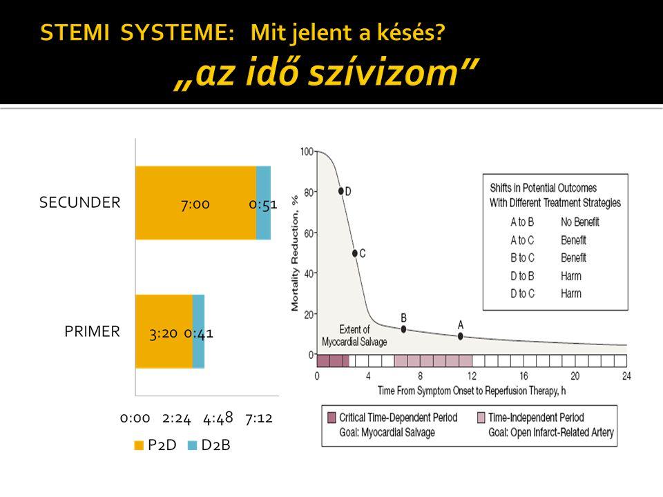 """STEMI SYSTEME: Mit jelent a késés """"az idő szívizom"""