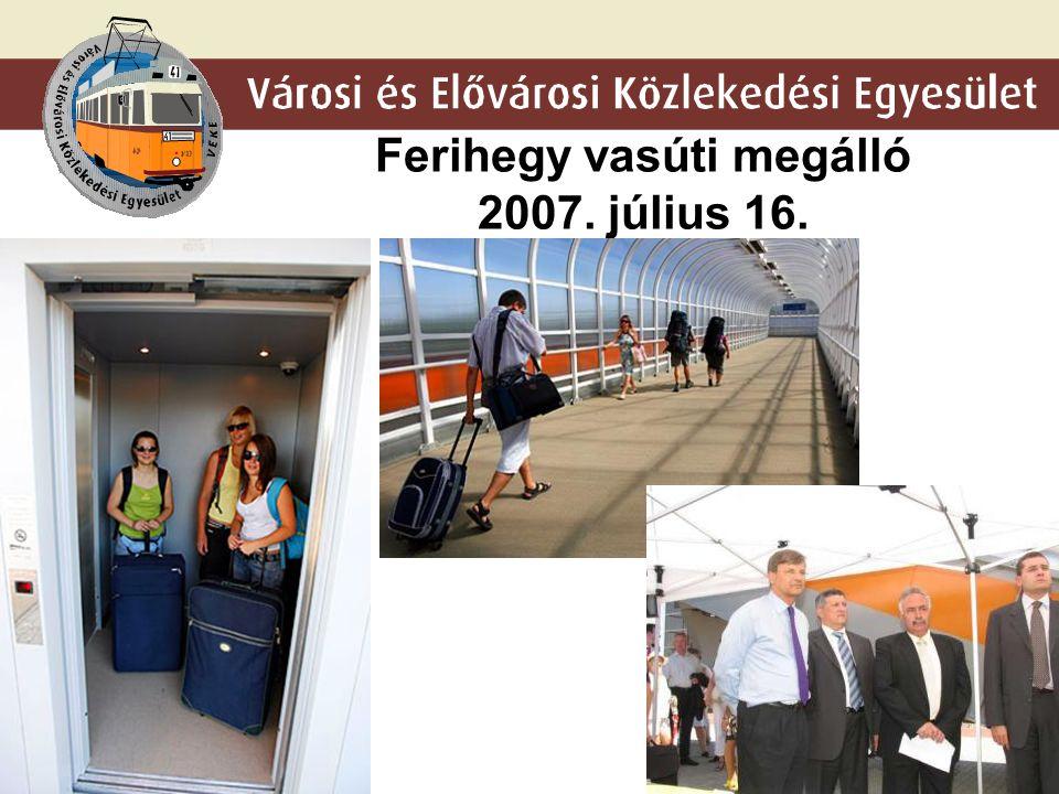 Ferihegy vasúti megálló 2007. július 16.