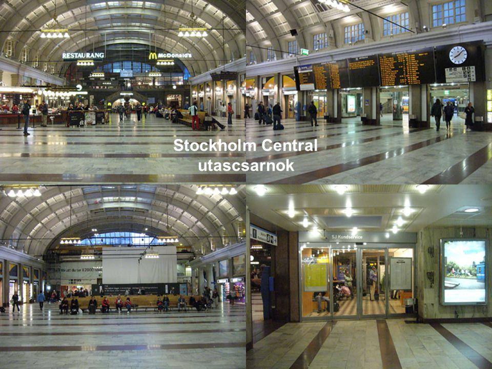 Stockholm Central utascsarnok