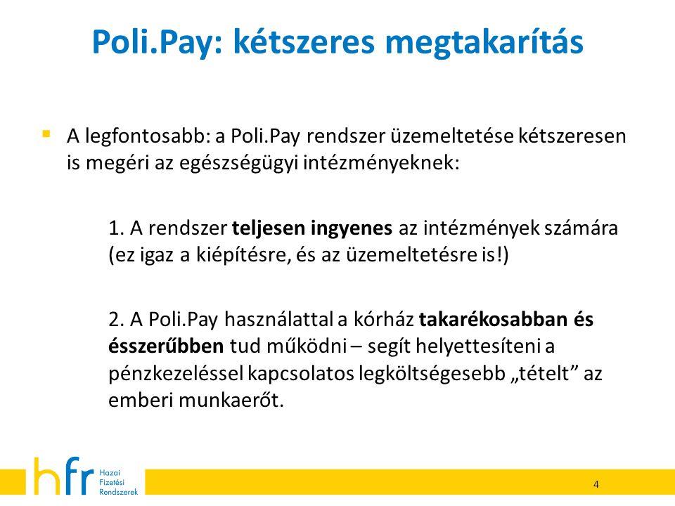 Poli.Pay: kétszeres megtakarítás